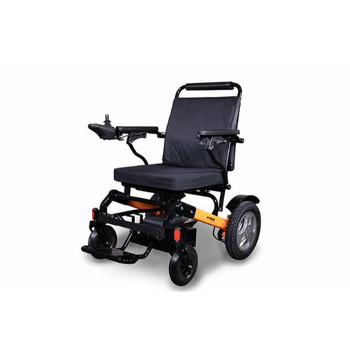 EW-M45 Orange & Black Electric Wheelchair