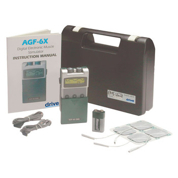 Portable Digital EMS with Timer and Carrying Case - agf-6x