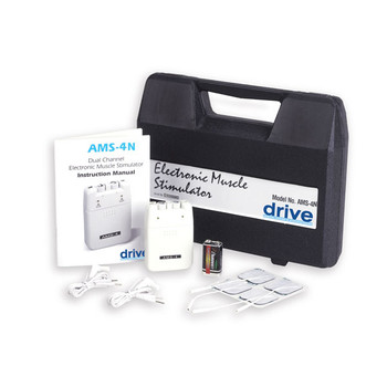 Portable EMS with Timer and Carrying Case - ams-4n