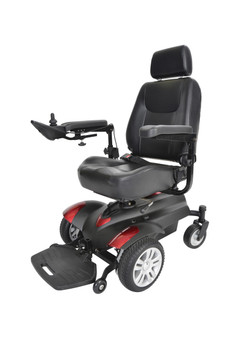 "Titan Front Wheel Power Wheelchair 20"" Captain Seat - titan20cs"
