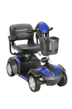 Ventura 4 Wheel Scooter with Folding Seat - ventura418fs