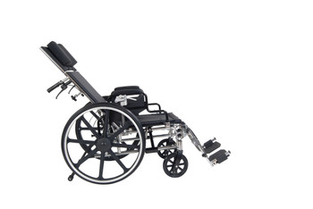 """Viper Plus GT 16"""" Reclining Wheelchair with Desk Arms - pla416rbdda"""