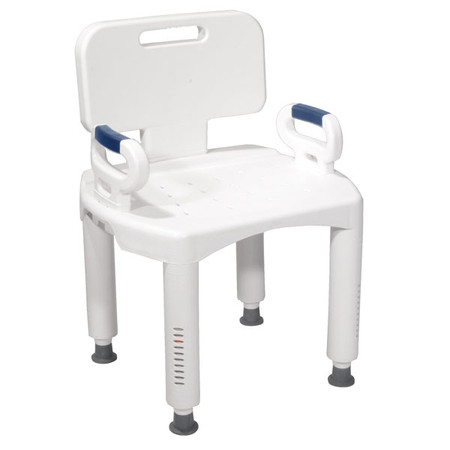 Bath Bench with Back and Arms - rtl12505