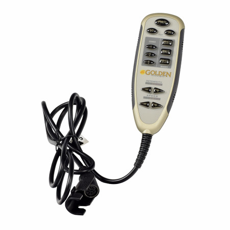 Deluxe Heat & Massage Accessory Hand Control for Golden Technologies Lift Chairs (HV3001)