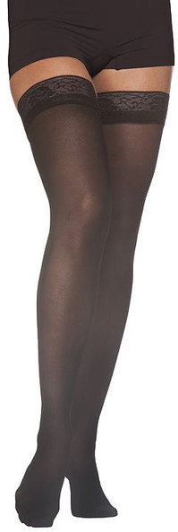 Sigvaris 782N EverSheer 20-30 mmHg Closed Toe Thigh High Compression Stockings