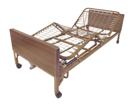 Full Electric Bed with Full Rails - 15005bv-fr