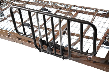 Full Electric Bed with Half Rails - 15005bv-hr