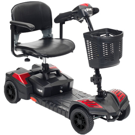 Spitfire Scout 4 Wheel Travel Power Scooter - sfscout4