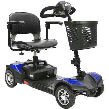 Spitfire Scout DLX 4 Wheel Compact Travel Scooter - sfscoutdlx4