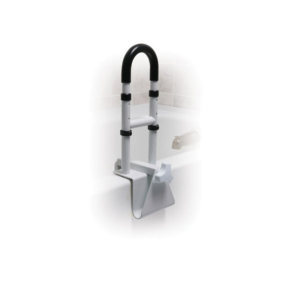 Adjustable Height Bathtub Grab Bar Safety Rail - rtl12036-adj