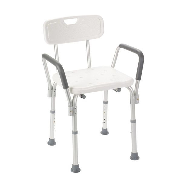 Bath Bench with Padded Arms and Back - 12445KD-1