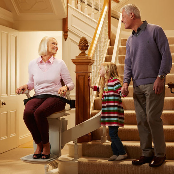 The Acorn 180 Curve Stair Lift
