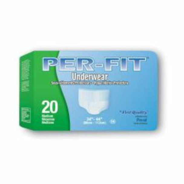 Absorbent Underwear Prevail® Pull On Medium Disposable Heavy Absorbency