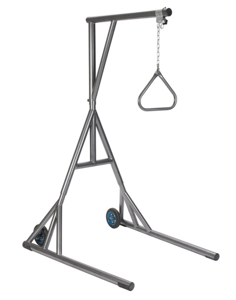 Heavy Duty Silver Vein Trapeze with Base and Wheels - 13039sv