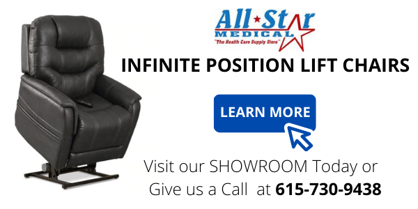 infinite position lift chair All Star Medical