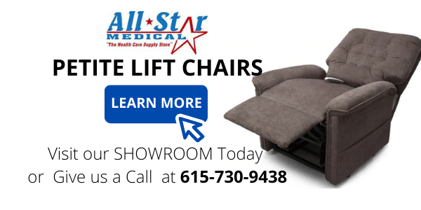 petite lift chair All Star Medical