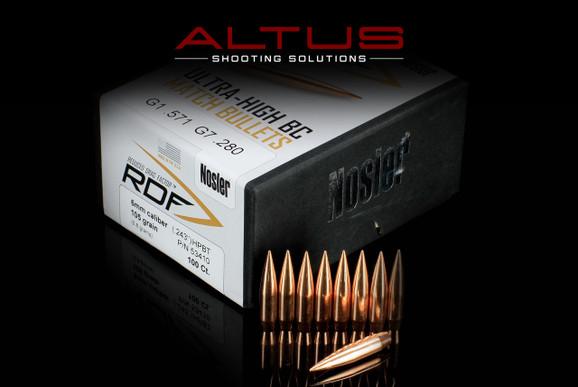 Nosler RDF (Reduced Drag Factor) 6mm 105gr HPBT