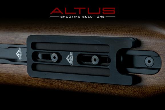 Foundation Rifle Stocks ARCA Swiss Short Rail Attachment