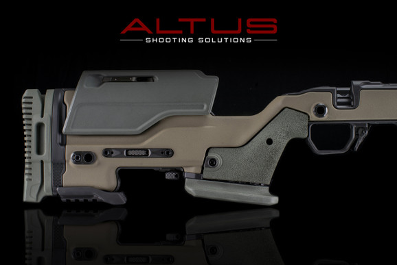 J Allen Enterprises JAE-700 SA Chassis (Coyote Brown w/ Putty Green)
