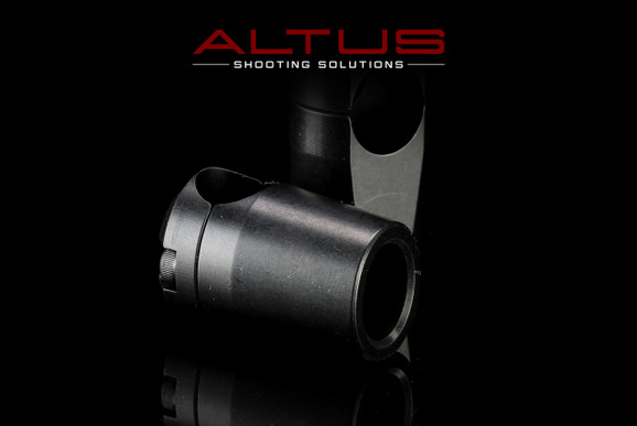 Primary Adaptive Solution Systems (PASS) Harris Bipod clamp-on leg adapters