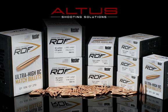 Nosler RDF (Reduced Drag Factor) 6.5mm 140 Grain HPBT