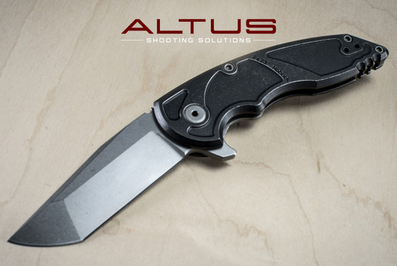 "Jake Hoback Knives A8 Slimline Folder ""Alternate Reality"" (Stonwash/Fallout Black Finish)"