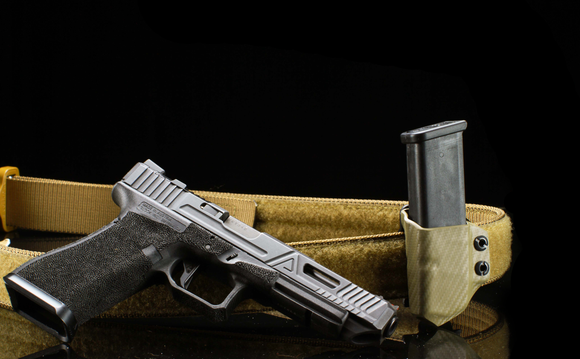 Alex and Ryan Design Kydex Single Pistol Mag Carrier