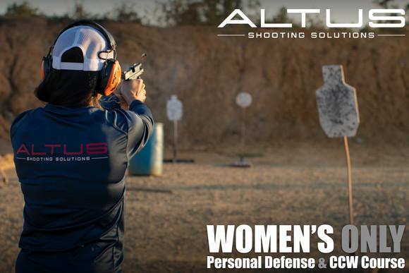 Women's Level 1 Personal Defense & CCW Course