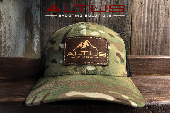 ALTUS Reverse Leather Patch Hat (Multicam/Black)
