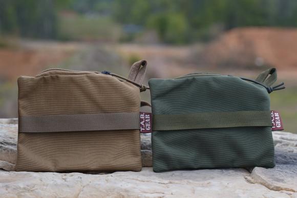 TAB Gear Zipper Pouch Rear Bag (Small)