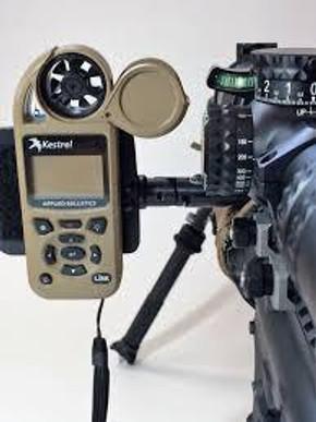 Hawk Hill Custom Rifle Mounted Data Holder (Picatinny Mount)
