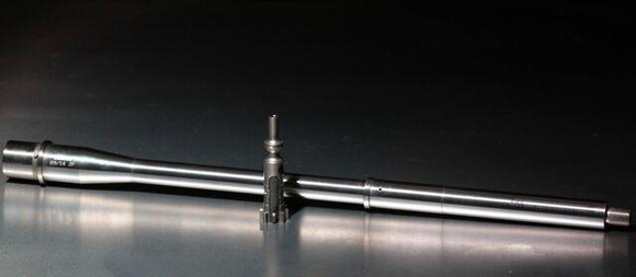 "16"" 1:8 twist light contour AR 15 Barrel w/ head-spaced bolt"