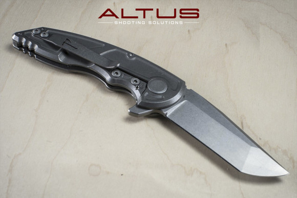 Jake Hoback Knives A8 Slimline Folder (Blade Stonewash Finish)