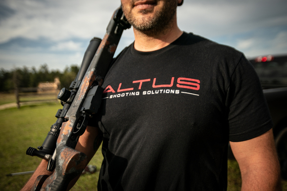 ALTUS Shooting Solutions Black T-Shirt
