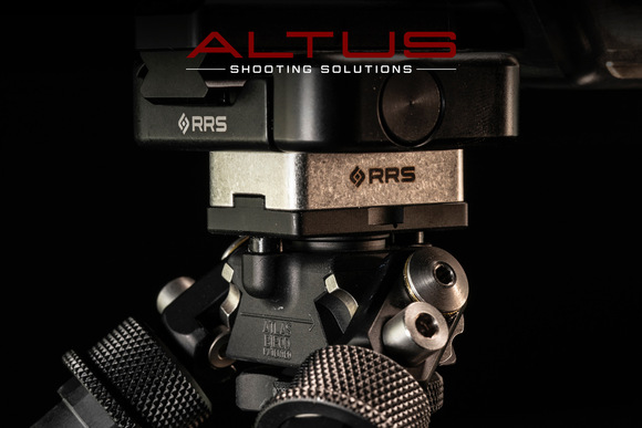 Atlas PSR Bipod with Really Right Stuff BTCA SOAR Lever-Release Clamp