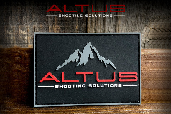 ALTUS Shooting Solutions PVC Patch