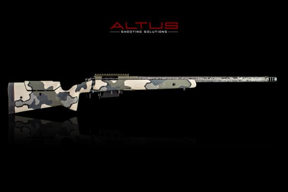 ALTUS Custom Precision Hunter Rifle 6.5 PRC in Vias Camo