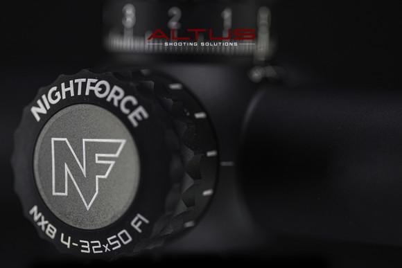 Nightforce NX8 4-32x50 Mil-XT Rifle Scope