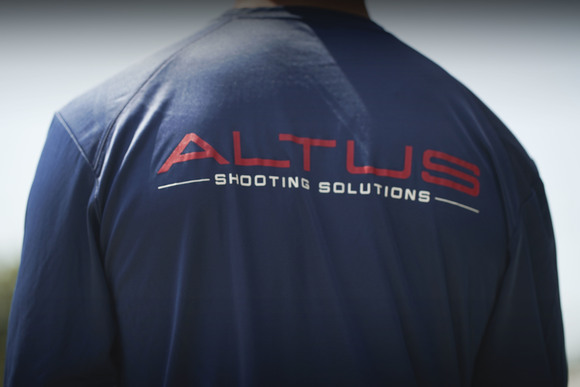 "The ""Heat Index Dry Fit"" by ALTUS Shooting Solutions Navy Blue"