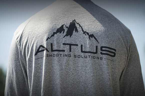 "The ""Heat Index Dry Fit"" by ALTUS Shooting Solutions Heather Grey"