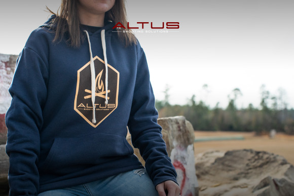 Altus Midnight Navy Camp Fire Hoodie
