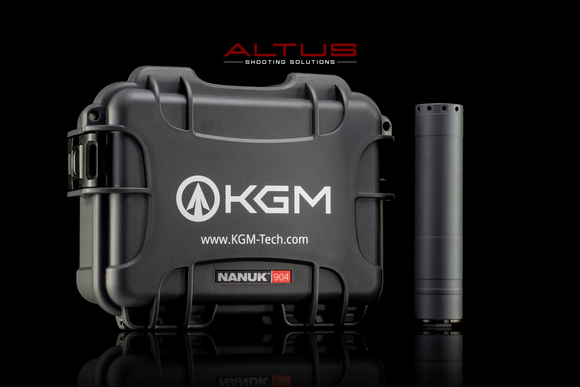 KGM Technologies R-6.5 Precision Rifle Suppressor