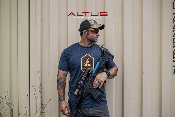 ALTUS Blue Campfire T-Shirt