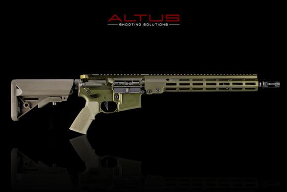 "Geissele Automatics Super Duty Rifle (14.5"" Pin & Welded, 5.56mm)"