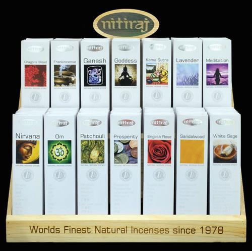 Nittraj Platinum Natural Incense Sticks