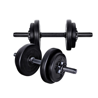 Everfit 17KG Dumbbells Dumbbell Set Weight Plates Home Gym Fitness Exercise