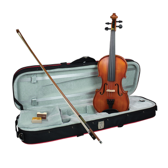 """Hidersine Vivente 14"""" Viola all Solid Student Outfit with Professional Setup"""