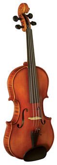 Hidersine Violin 1/4 Vivente Academy 'Finetune' all Solid Student Outfit with professional Setup.