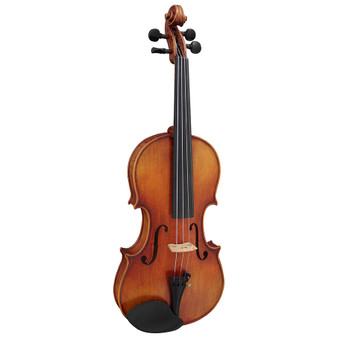 Hidersine Venezia Violin Outfit 4/4 all Solid with professional Setup.