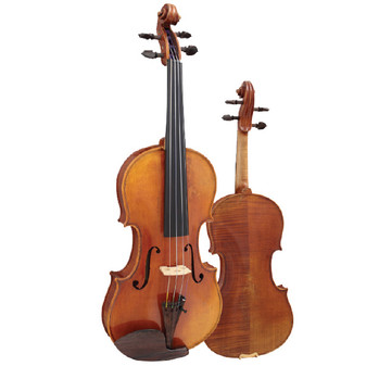 Hidersine Reserve 4/4 Violin  Outfit all Solid with professional Setup.